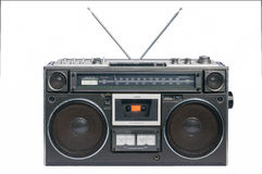 Vintage radio cassette recorder Stock Photos