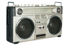 Vintage radio cassette recorder Royalty Free Stock Photos