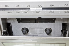 Vintage radio cassette recorder Royalty Free Stock Photography