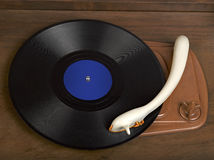 Vintage radio-gramophone Royalty Free Stock Photo