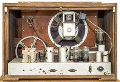 Vintage radio isolated Royalty Free Stock Image