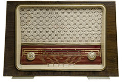 Vintage radio off Stock Photo