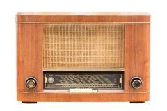 Vintage Radio On The White Royalty Free Stock Photos