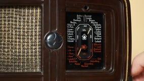 Vintage Radio Stock Footage