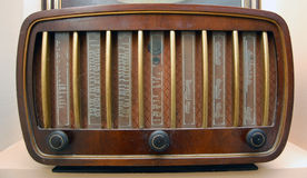 Vintage radio. Picture of a Royalty Free Stock Photo