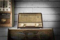 Vintage Radio player Stock Photo