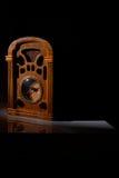 Vintage radio receiver. With bottom copy space Royalty Free Stock Photos