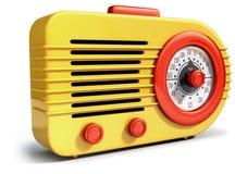 Vintage radio receiver Stock Image