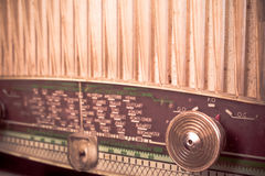 Vintage radio receiver Royalty Free Stock Image