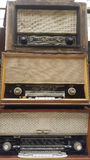 Vintage radio receivers, tuners Royalty Free Stock Photo