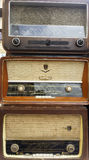 Vintage radio receivers, tuners Royalty Free Stock Images