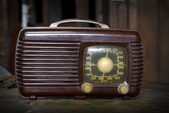 Vintage Radio's Royalty Free Stock Photos