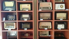 Vintage Radio Sets Royalty Free Stock Photos