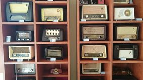 Vintage radio sets Royalty Free Stock Photos