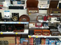 Vintage radio sets Stock Photography