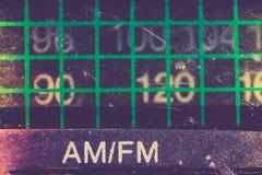 Free Vintage Radio Station Panel Close Up Stock Photography - 160070112