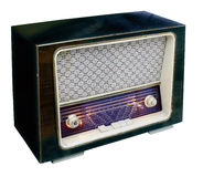 Vintage radio top Royalty Free Stock Images