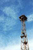 Vintage radio tower Stock Photography