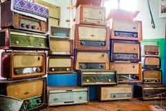 Vintage radio tuner receivers Stock Photography