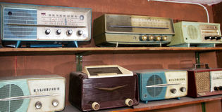 Vintage radios Royalty Free Stock Photos