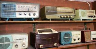 Vintage radios royalty free stock photos