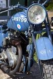 Vintage RAF Motocycle Royalty Free Stock Photo