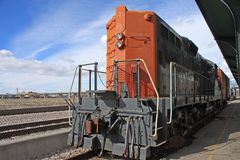 Vintage Rail Truck Royalty Free Stock Photos