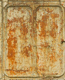 Vintage railroad container doors with rusty and old color. Vintage railroad container doors with rusty and old color of a freight train at Sia-Att railway Royalty Free Stock Photo