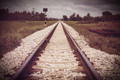 vintage railroad Royalty Free Stock Photos