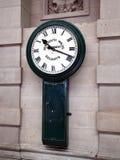 Vintage Railway Clock Stock Image