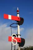 Vintage railway signal Stock Image
