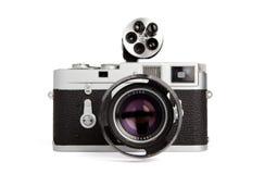 Vintage rangefinder Stock Image