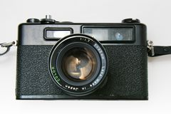 Vintage Rangefinder Camera Royalty Free Stock Image