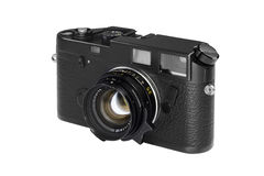 Vintage rangefinder camera,electronics & technology Royalty Free Stock Photo