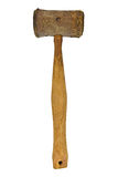 Vintage rawhide mallet Royalty Free Stock Photos