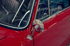 Vintage rear mirror Royalty Free Stock Images