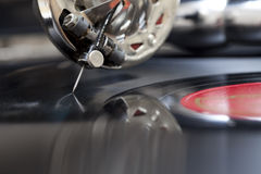 Vintage record Royalty Free Stock Photography