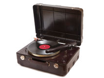 Vintage record player Stock Image