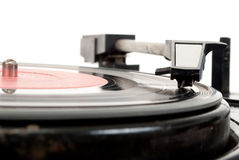 Vintage record player Royalty Free Stock Images
