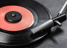 Vintage record player Stock Photos