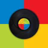 Vintage record Pop Art Royalty Free Stock Photos