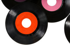 Vintage records stock photography