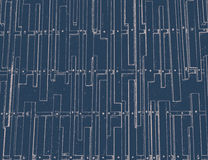 Vintage rectangle on blue background Royalty Free Stock Photography