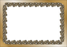Vintage rectangular frame Stock Photos