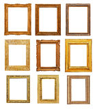 Vintage rectangular frames Stock Photography