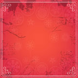 Vintage red background Royalty Free Stock Photos