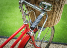 A red bicycle Royalty Free Stock Photos