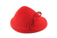 Vintage red bonnet Royalty Free Stock Photo