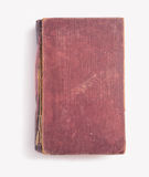 Vintage red book, copyspace Stock Photography