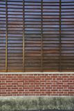 Red Brick Wall Pattern for Background. Vintage red Brick Wall Pattern for Background Stock Photography
